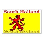 South Holland Flag Rectangle Sticker