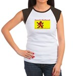 South Holland Flag Women's Cap Sleeve T-Shirt