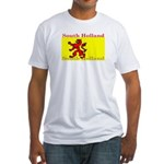 South Holland Flag Fitted T-Shirt
