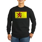 South Holland Flag Long Sleeve Dark T-Shirt