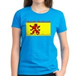 South Holland Flag Women's Dark T-Shirt