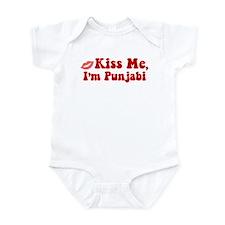 Kiss Me, I'm Punjabi. Onesie