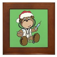 Nurse Christmas Framed Tile