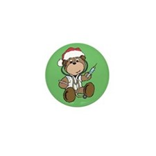 Nurse Christmas Mini Button (10 pack)