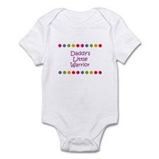 Daddy's Little Warrior Infant Bodysuit