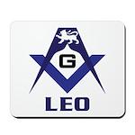 Masonic Leo Mousepad