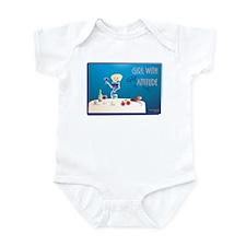 Girl w/Gratitude Kay Syrah Infant Bodysuit
