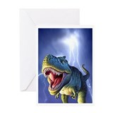 T-Rex 5 Greeting Card