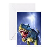 T-Rex 5 Greeting Cards (Pk of 20)
