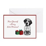 Pointer Christmas Greeting Cards (Pk of 10)