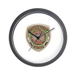 Umatilla Tribal Police Wall Clock