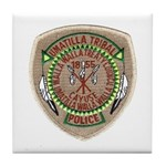 Umatilla Tribal Police Tile Coaster
