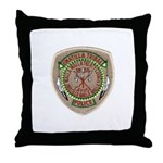 Umatilla Tribal Police Throw Pillow