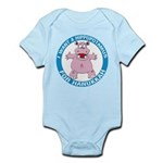 Hippopotamus For Hanukkah Infant Bodysuit