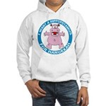 Hippopotamus For Hanukkah Hooded Sweatshirt