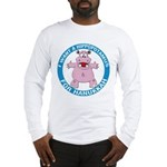 Hippopotamus For Hanukkah Long Sleeve T-Shirt