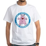 Hippopotamus For Hanukkah White T-Shirt