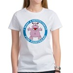 Hippopotamus For Hanukkah Women's T-Shirt