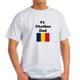 #1 Chadian Dad T-Shirt