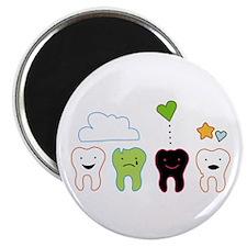 cute teeth Magnet