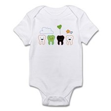 cute teeth Infant Bodysuit