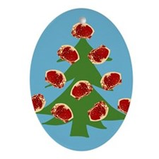 Meat Christmas Tree Ornament (Oval)