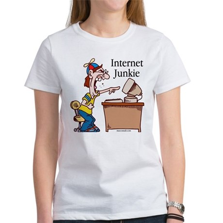 """Internet Junkie"" #2 Women's T-Shirt"