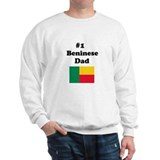 #1 Beninese Dad Sweatshirt