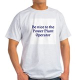Power Plant Operator T-Shirt