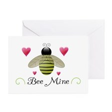 Bee Mine Valentine Greeting Card (10 pack)