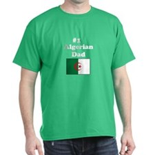 #1 Algerian Dad T-Shirt