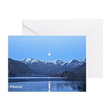 Lake Chelan Peace Greeting Card