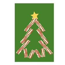 Bacon Christmas Tree Postcards (Package of 8)