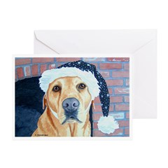 Yellow Lab Cookies Greeting Card