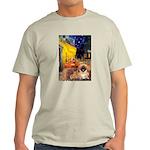 Cafe /Pekingese (r) Light T-Shirt