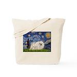 Starry / Pekingese(w) Tote Bag