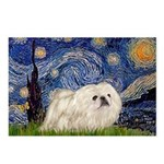 Starry / Pekingese(w) Postcards (Package of 8)