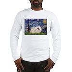 Starry / Pekingese(w) Long Sleeve T-Shirt