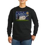 Starry / Pekingese(w) Long Sleeve Dark T-Shirt