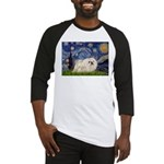 Starry / Pekingese(w) Baseball Jersey