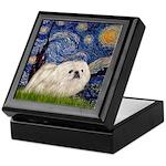 Starry / Pekingese(w) Keepsake Box