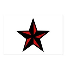 Redblack Star Postcards (Package of 8)