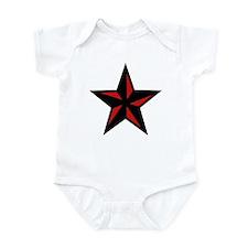 Redblack Star Infant Bodysuit