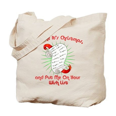 Act Like It's Christmas Tote Bag