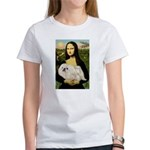 Mona /Pekingese (w) Women's T-Shirt