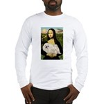 Mona /Pekingese (w) Long Sleeve T-Shirt