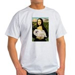 Mona /Pekingese (w) Light T-Shirt