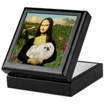 Mona /Pekingese (w) Keepsake Box