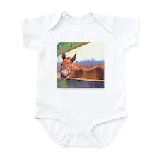 Adorable foal Infant Bodysuit