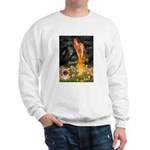 Fairies / Pekingese(r&w) Sweatshirt